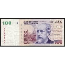 B3707 100 Pesos C/Leyenda A 2001 MB+