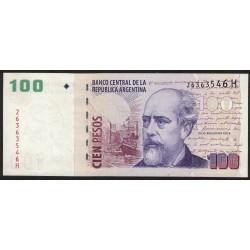 B3724 100 Pesos H 2007 EXC+