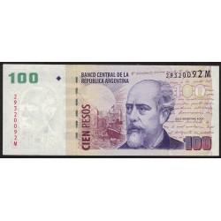 B3736 100 Pesos M 2010 EXC+