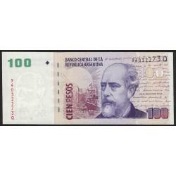 B3744/A 100 Pesos Q 2012 UNC