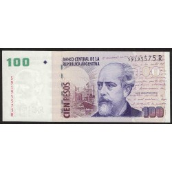 B3745 100 Pesos R 2012 UNC