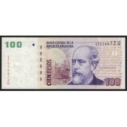 B3749 100 Pesos U 2012 UNC
