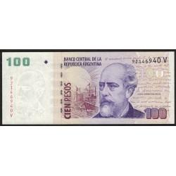 B3751 100 Pesos V 2012 UNC