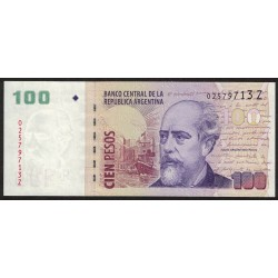B3757 100 Pesos Z 2012 UNC