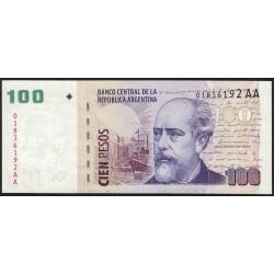 B3758 100 Pesos AA 2013 UNC