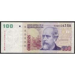 B3759 100 Pesos BA 2013 UNC