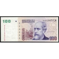 B3760 100 Pesos CA 2013 UNC