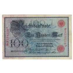 P33A Alemania 100 Marcos 1908