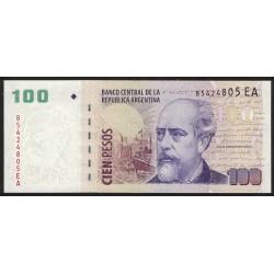 B3762 100 Pesos EA 2013 UNC