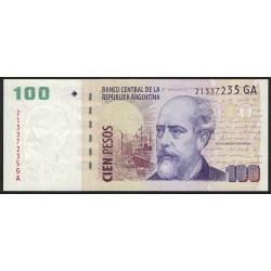 B3764 100 Pesos GA 2013 UNC