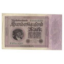 P83 Alemania 100.000 Marcos 1923