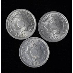 Peru KM228 2 Centavos Zink 1951/1952/1955 UNC