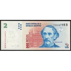 B3204 2 Pesos C/Leyenda B 1999 UNC