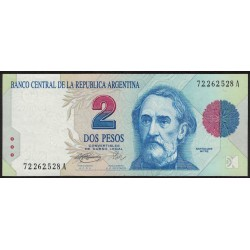 B3015 2 Pesos Convertibles A 1994 UNC