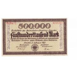 Alemania 500.000 Marcos 1923 UNC