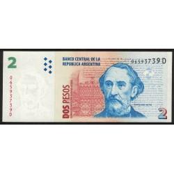 B3209 2 Pesos C/Leyenda D 2001 UNC