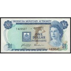 Bermuda P28b 1 Dollar 1979 UNC