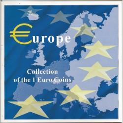 Euroset coleccion 1 Euro 12 Paises 2002 UNC