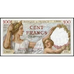 Francia P94 100 Francos 1942 UNC