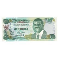 P69 Bahamas 1 Dolar 2001 UNC