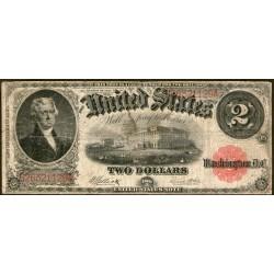 Estados Unidos P188 2 Dolares 1917 MB