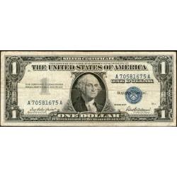 Estados Unidos P419 1 Dolar 1957 Sello Azul MB