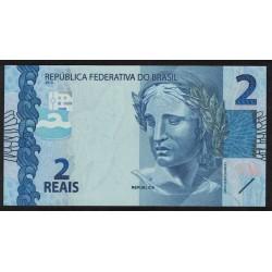 P252 2 Reales 2010 Brasil UNC