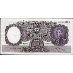 B2164 1000 Pesos MN D 1967 UNC