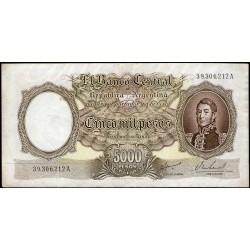 B2181 5000 Pesos MN A 1967 MB+