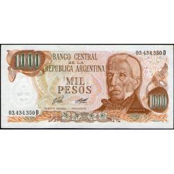 B2446a 1000 Pesos D 1976 F2 EXC+