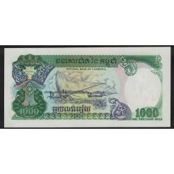 P39 1000 Riels 1992 Camboya UNC