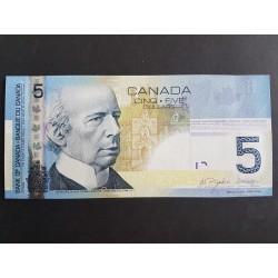 P101Aa 5 Dolares 2006 Canada UNC