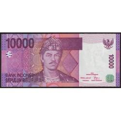Indonesia P143a 10.000 Rupias 2005 UNC