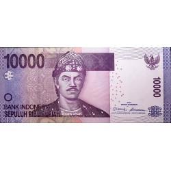 Indonesia P150a 10.000 Rupias 2010 UNC