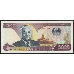 Laos P34b 5000 Kip 2003 UNC