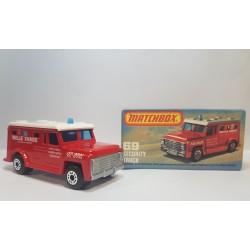 Matchbox 1978 N°69 Security Truck