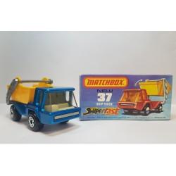 Matchbox 1978 N°37 Skip Truck Color Azul Raro