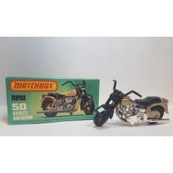 Matchbox 1980 N°50 Harley Davidson