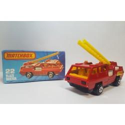 Matchbox 1976 N°22 Blaze Buster Nuevo con Caja
