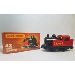 Matchbox 1978 N°43 Steam Locomotive