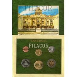 Blister monedas BCRA linea Peso UNC