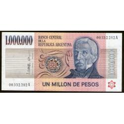 B2513 1.000.000 Pesos A 1981 EXC+