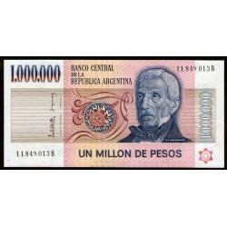 B2519 1.000.000 Pesos B 1983 UNC
