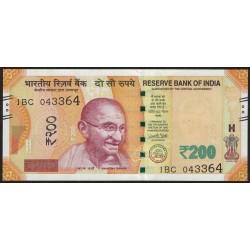 India 200 Rupias 2017 UNC