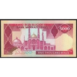 Iran P139a 5000 Rials 1983/93 UNC