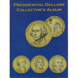 Album Vacio Estados Unidos Presidential Dollars Collector's Album