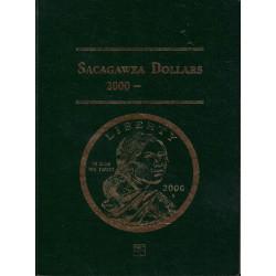 Album Vacio Estados Unidos Sacagawea Dollars 2000-2004