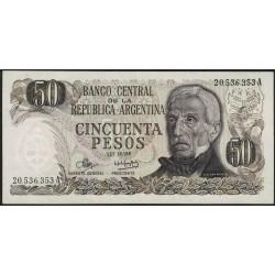 B2367a 50 Pesos Ley 18.188 A 1973 EXC-