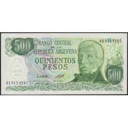B2428b 500 Pesos Ley 18.188 C 1979 UNC