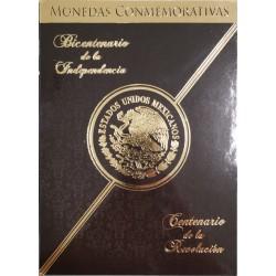 Mexico Album vacio Para 38 Monedas Serie conmemorativas Bicentenario